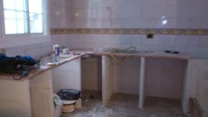 cocina-en-obras Hace un año decidí arreglar el ático, para hacer lo que realmente me gusta, crear!