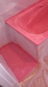 dsc_0232 Microcemento rosa para el baño.