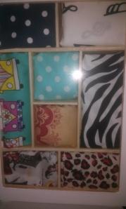 caja-chino-patchwork Práctico costurero, reciclando muebles.