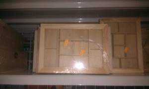 cajas-chino-vidreo Práctico costurero, reciclando muebles.