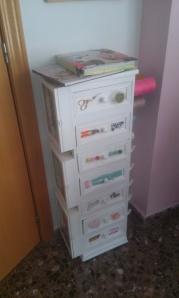 costurero Práctico costurero, reciclando muebles.
