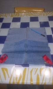 esquinas-bolsa-vaquera-con-cinta Reciclando camales de vaqueros