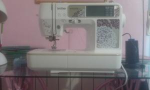 maquina-de-coser1 Pie de máquina de coser singer, rosa.